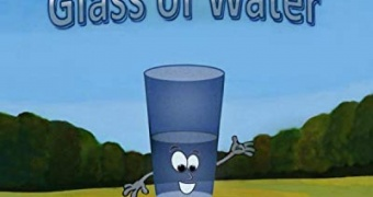 """Review of the children book  """"The Half-Full Glass of Water """"by Spud Getty!"""