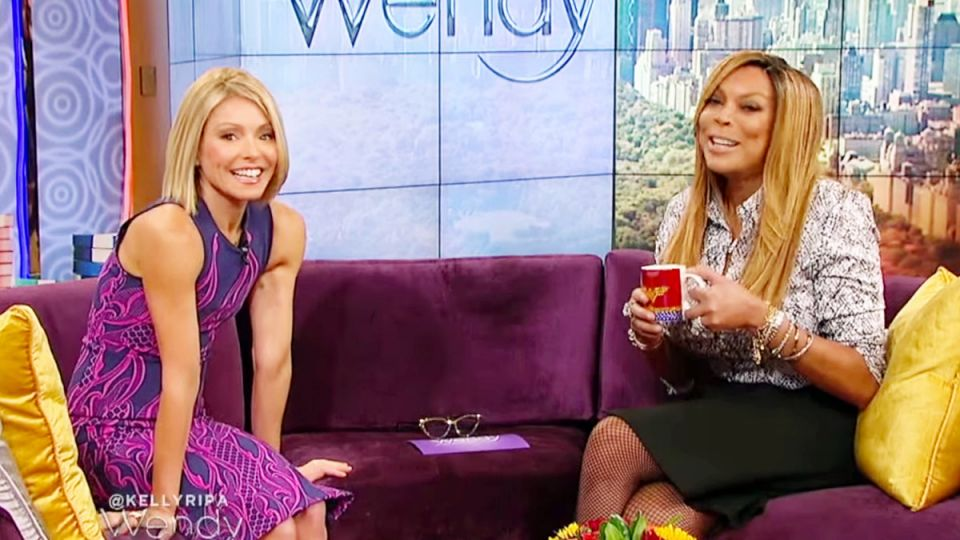Kelly Ripa & Wendy Williams