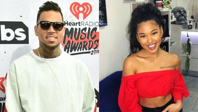 Chris Brown & Ammika Hariss