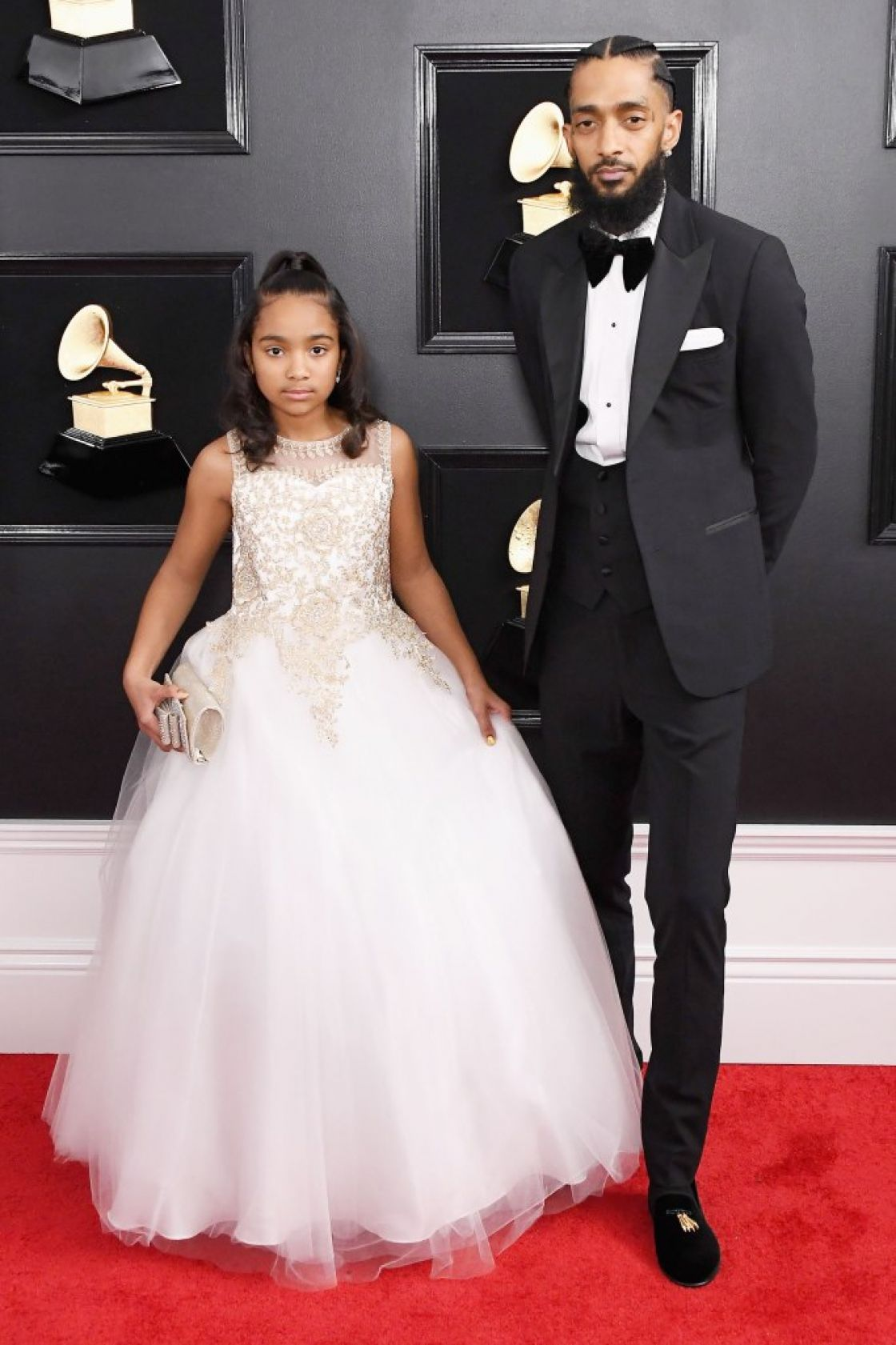 Nipsey Hussle's 10yrs old daughter and the Custody Battle