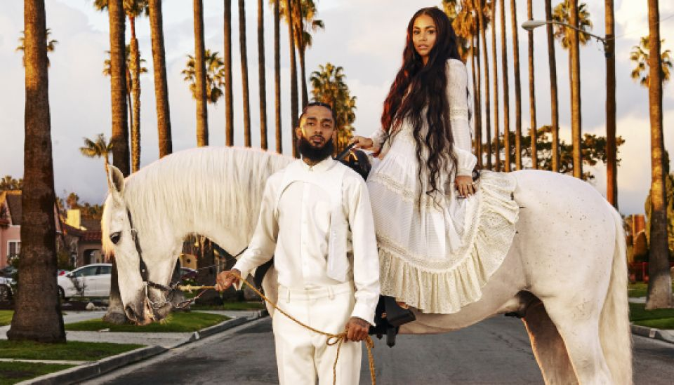 Lauren London & Nipsey Hussle