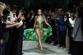 Iconic Versace green dress look for Halloween - Only leave it to J.LO