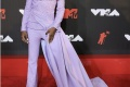 The VMA's outfits for the evening! Lil Nas x in purple women like outfit